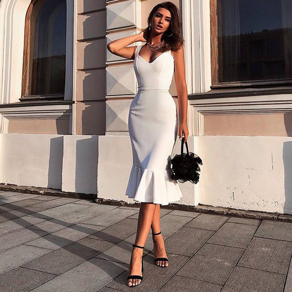Women's Bodycon Dress in Different Colors