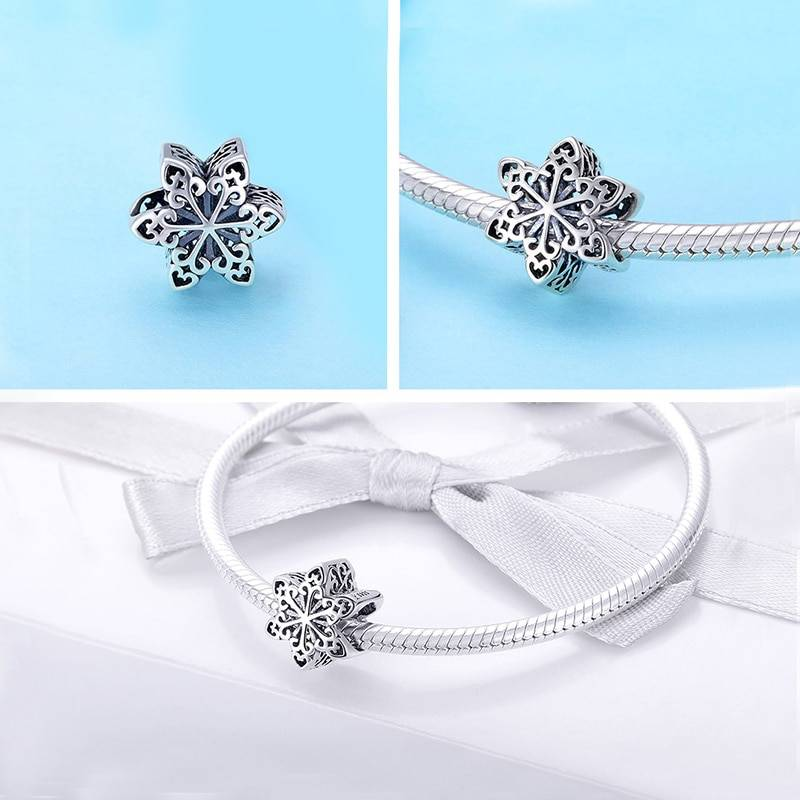 925 Sterling Silver Christmas Themed Charms