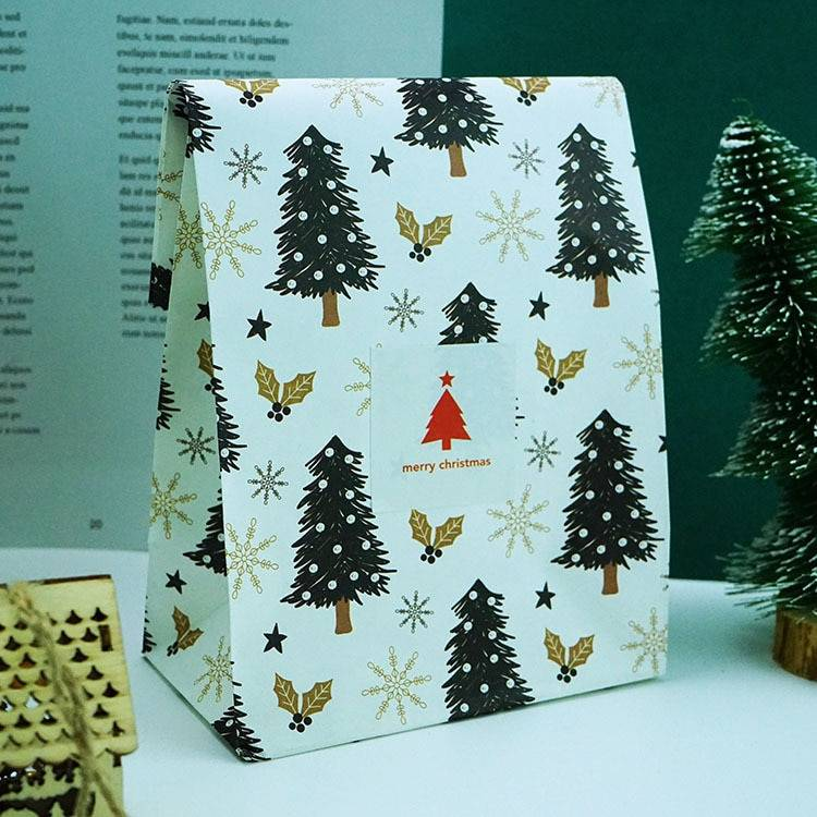Snowflakes Christma Gift Box 6 Pcs Set