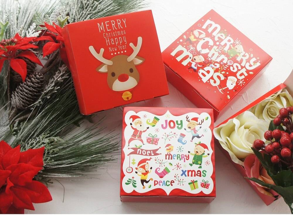 Merry Christmas Gift Box 10 Pcs Set