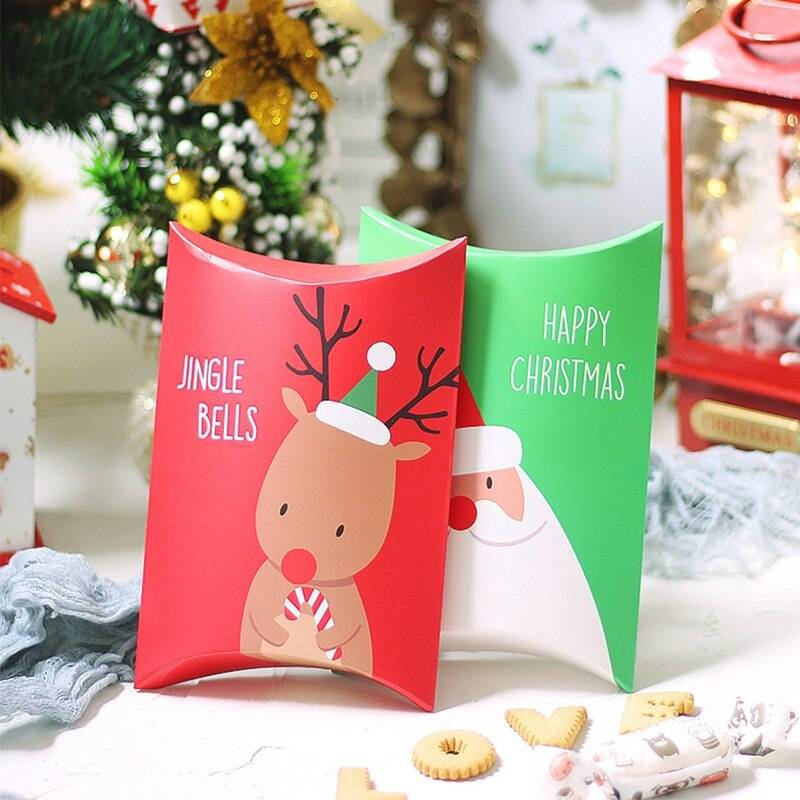 Kraft Paper Bag for Christmas Gifts Wrapping