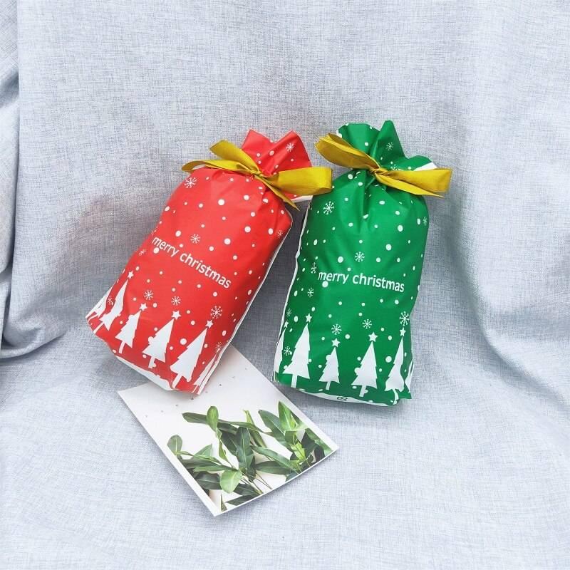 Simple Christmas Gift Bags 5 pcs Set