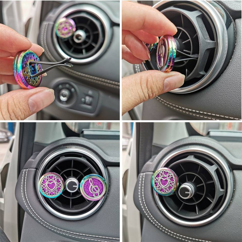 Aromatherapy Diffuser Car Ring