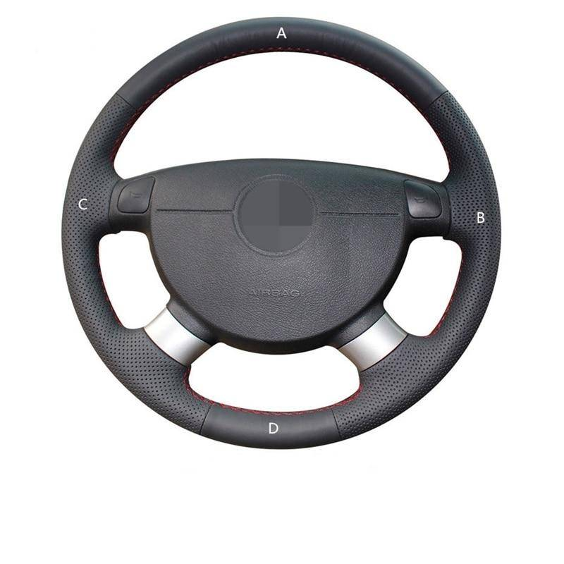 Artific Leather Steering Wheel Cover