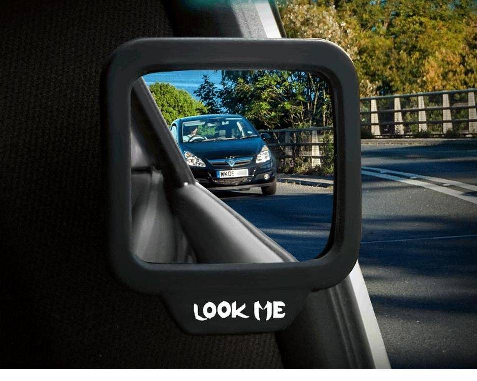 Wide Angle Rearview Magnet Mirror