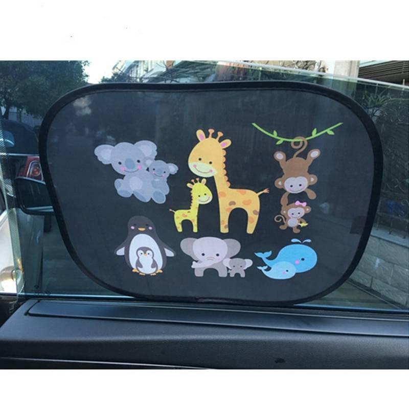 Lovely Animal Shaped Windscreen Cover for Car 2 pcs Set