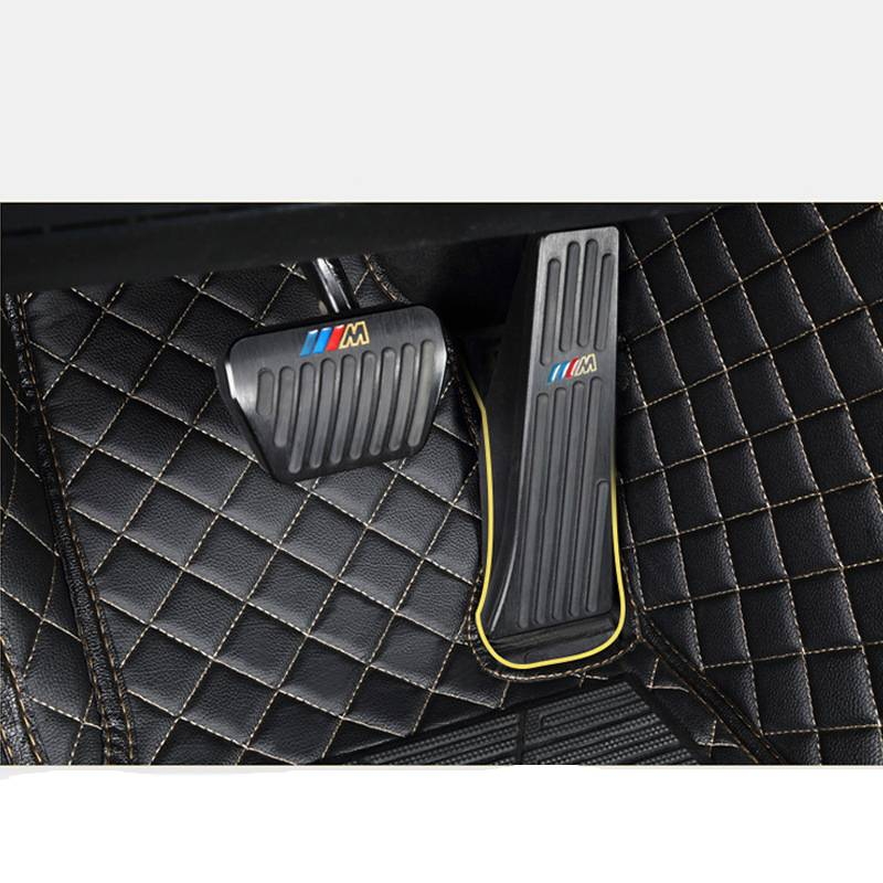 Stylish Leather Car Floor Mats for Mercedes Benz