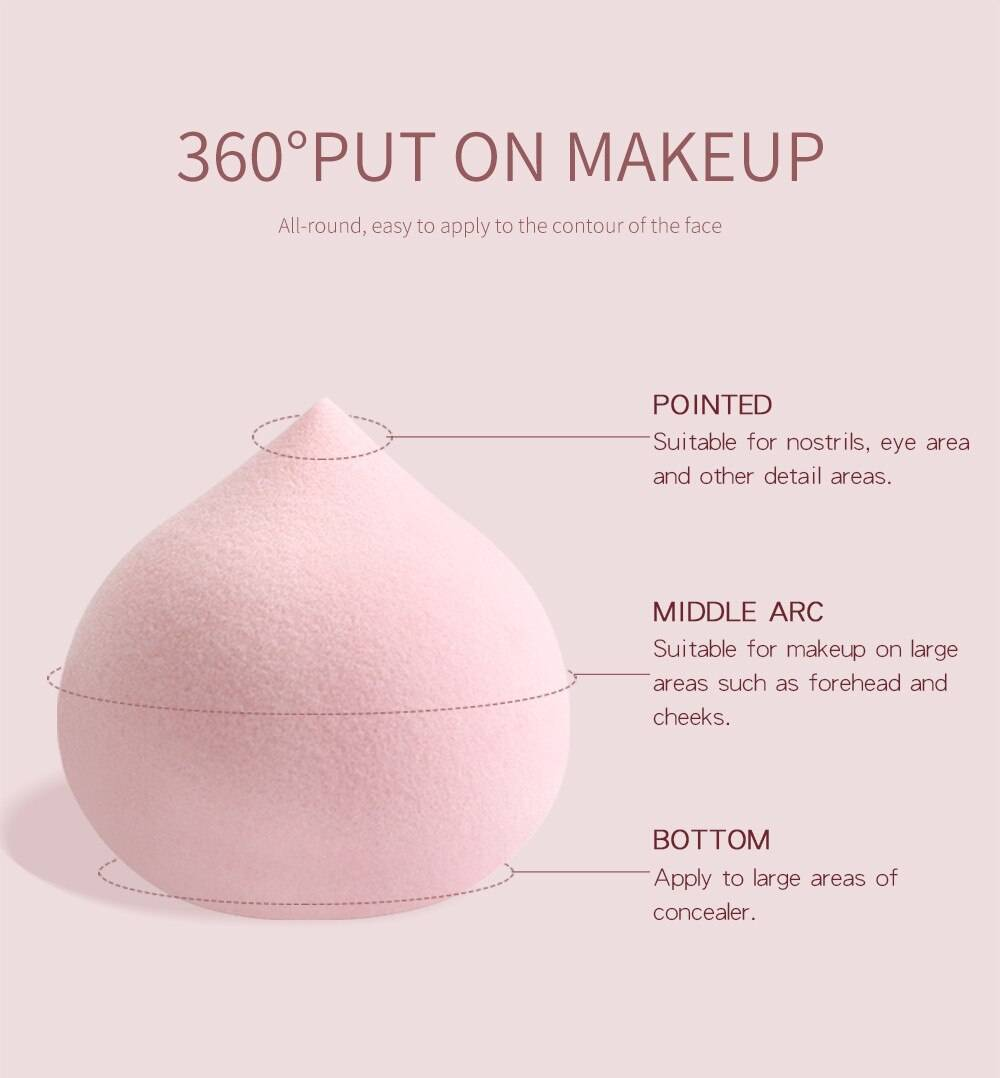 Makeup Sponge 5 Pcs Set