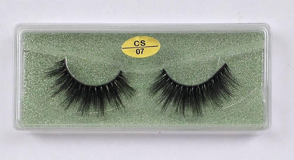 Natural Mink Eyelashes 30/40/50/100 Pairs Set