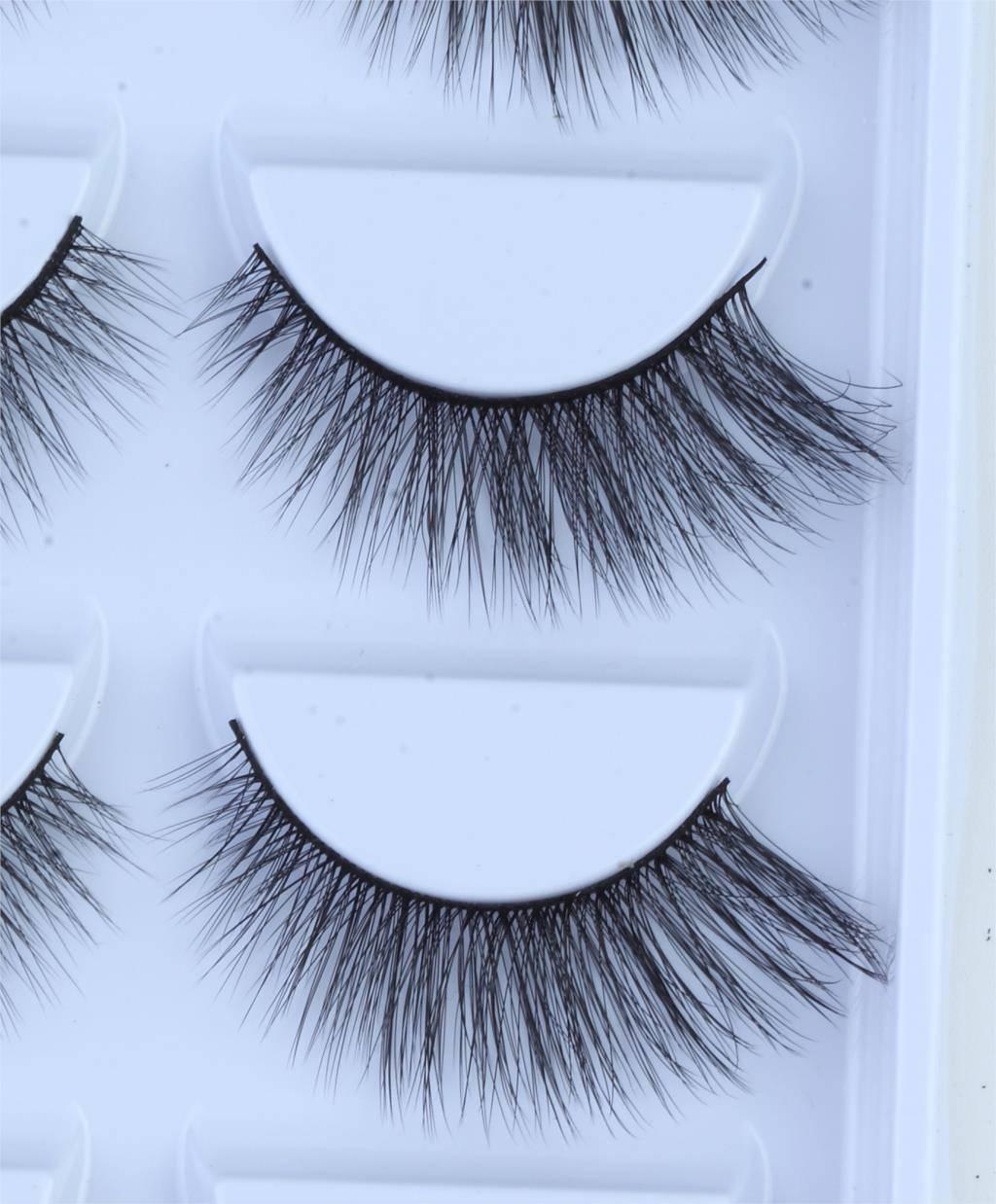 Mink Eyelashes 5 Pairs Kit