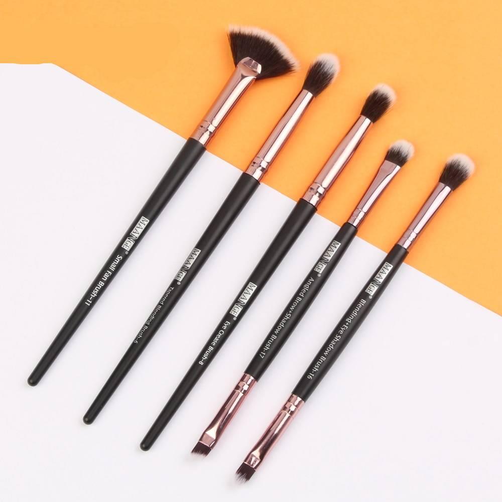Long Makeup Brushes Set