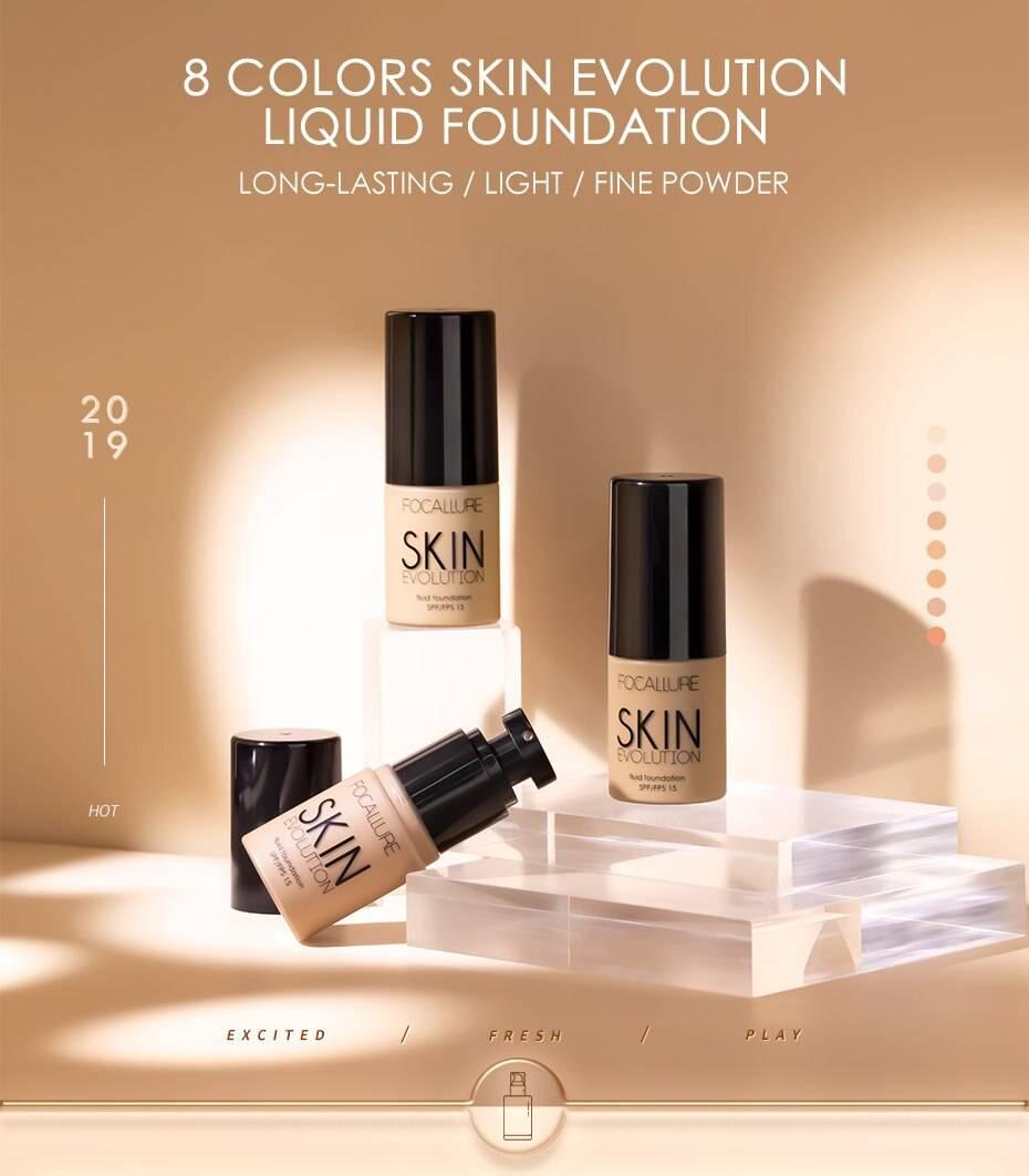 Oil-Control Liquid Foundation