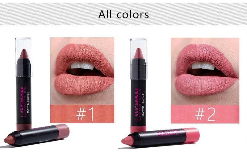 Nutritious Matte Lipstick 12 Pcs Set