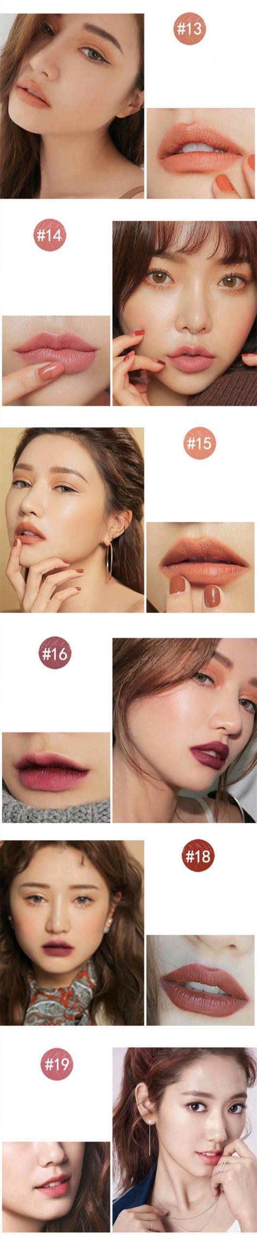Long-Lasting Lipstick 6 Pcs Set