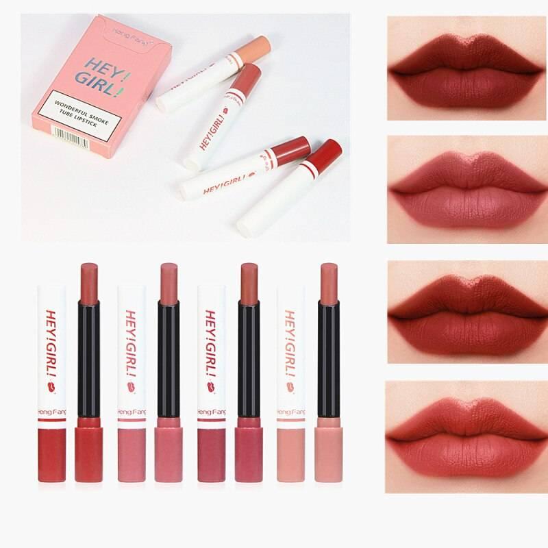Matte Lip Gloss Set, 10 Pcs