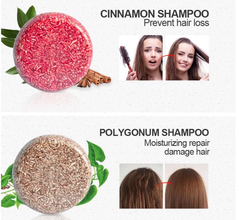 Round Shaped Organic Shampoo Bar