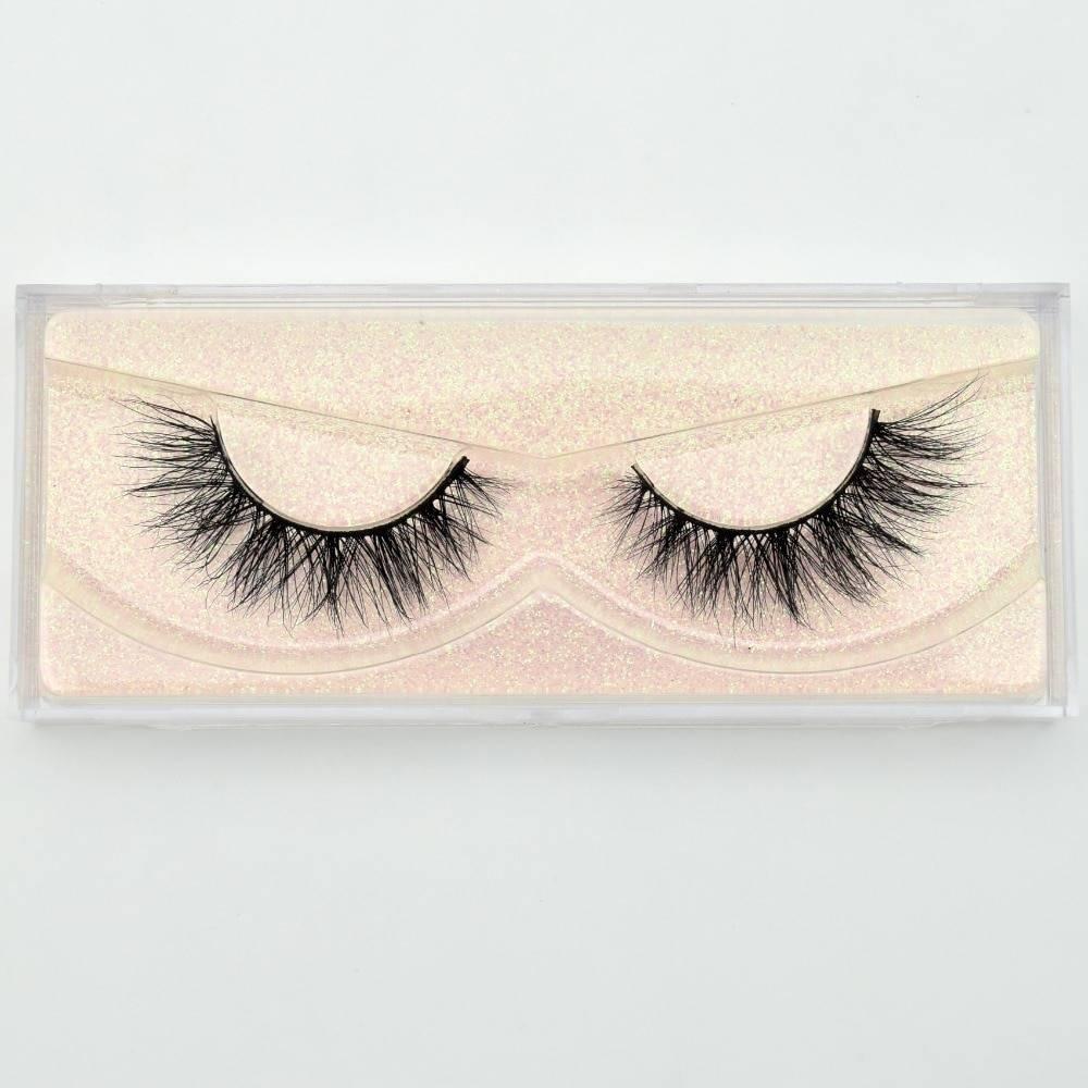 Reusable Natural 3D Mink Eyelashes