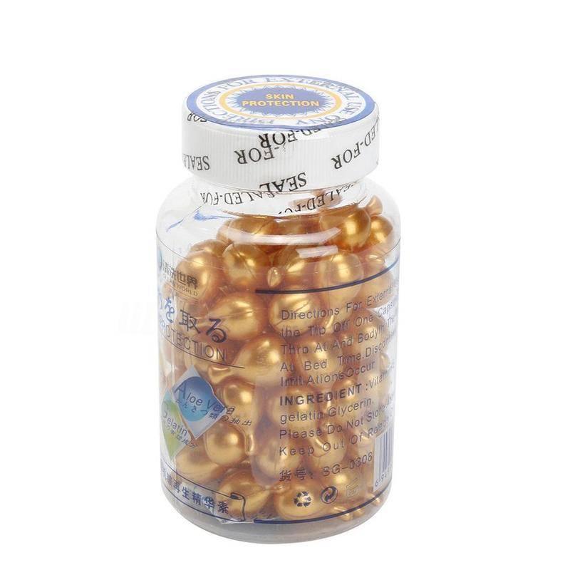 Vitamin-E Extract Face Cream Capsules Set