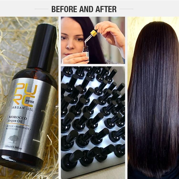 Moroccan Argan Oil for Moisture Hair