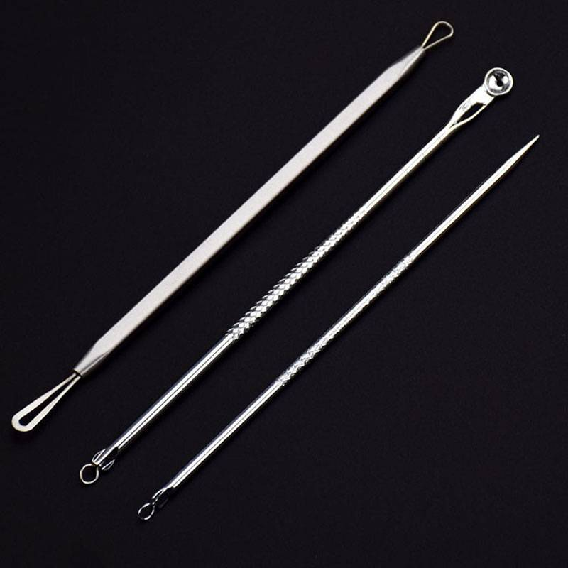 Stainless Steel Acne Removal Tools Kit