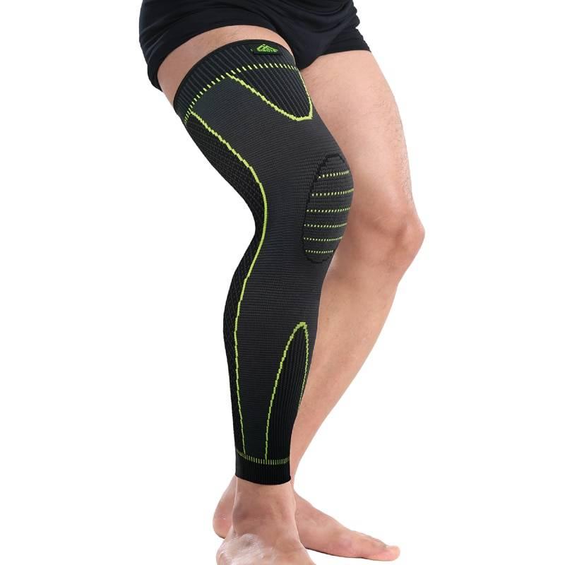 Simple Elastic Long Knee Pad
