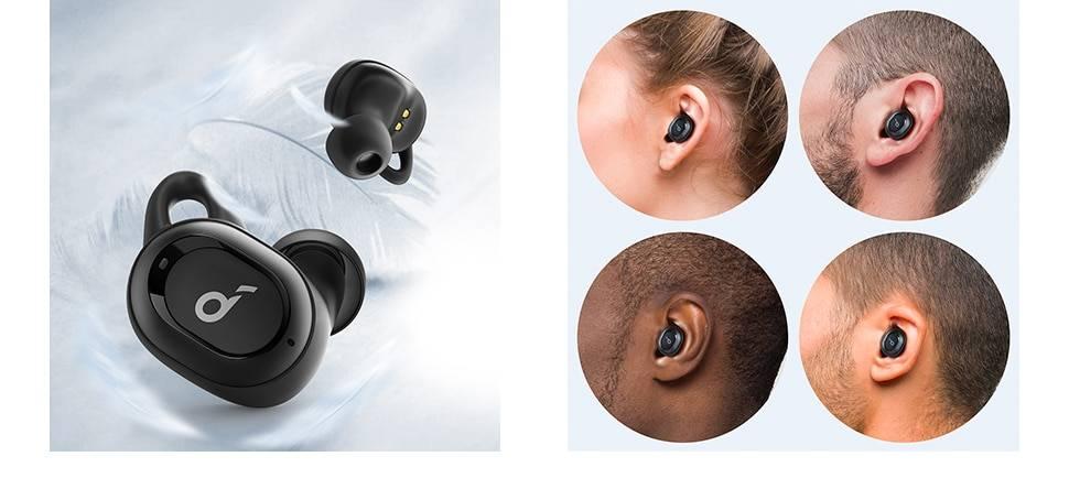 Sweatproof Noise Isolation Wireless Earphones with Bluetooth 5.0