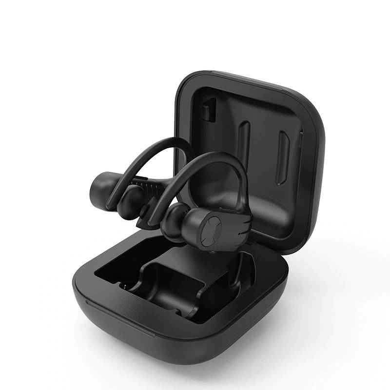 Bluetooth Earphones with LED Display