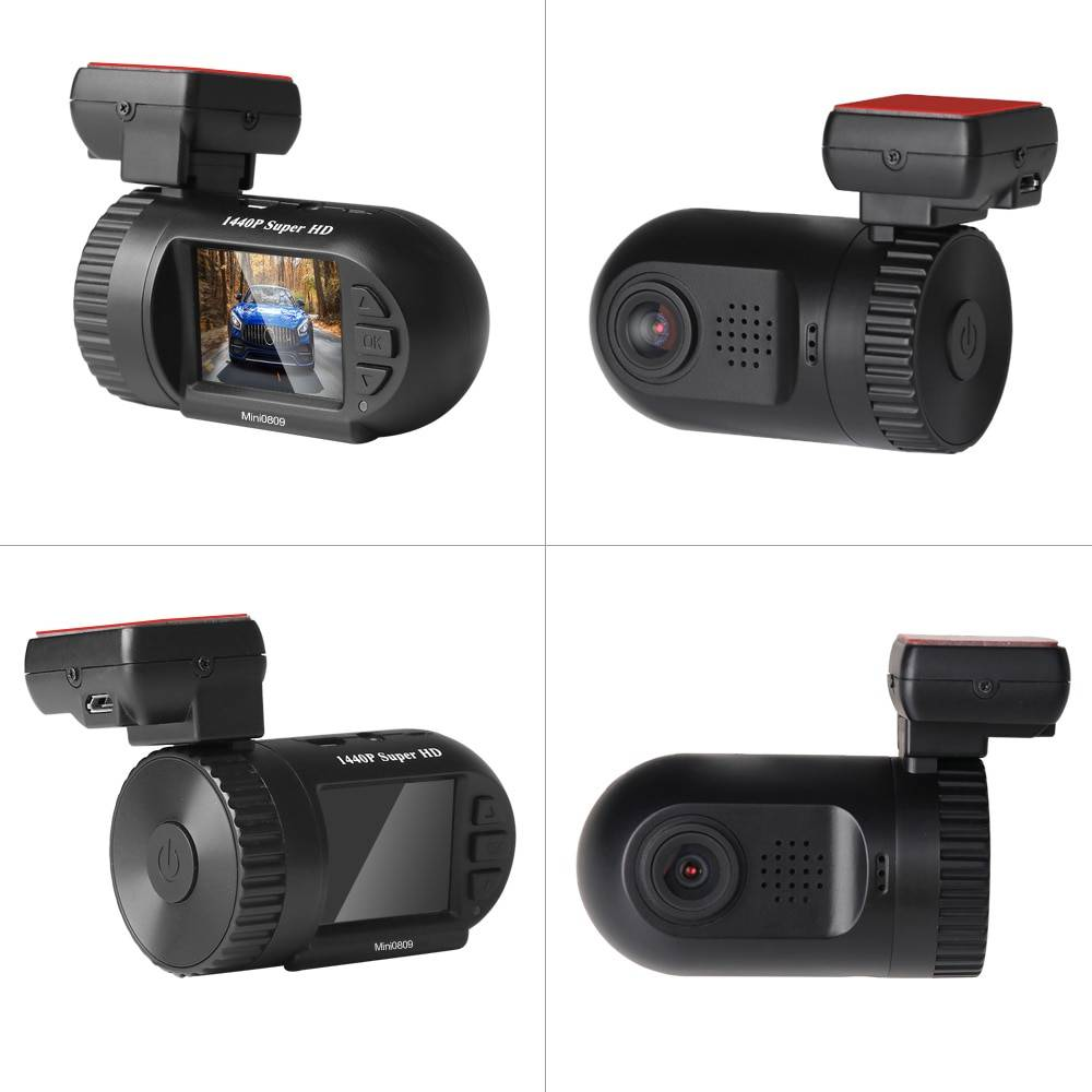 1440P Motion Detection Dashcam with GPS