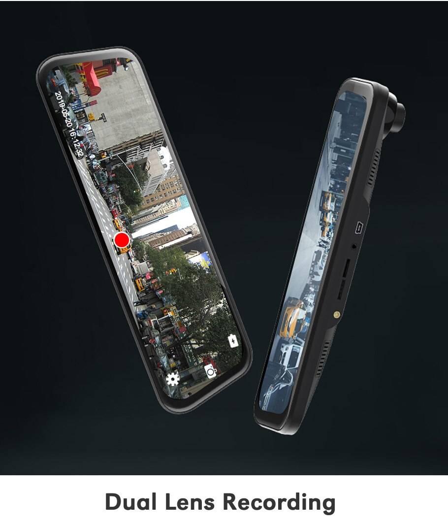 Stylish 1080p GPS Dash Camera for Cars