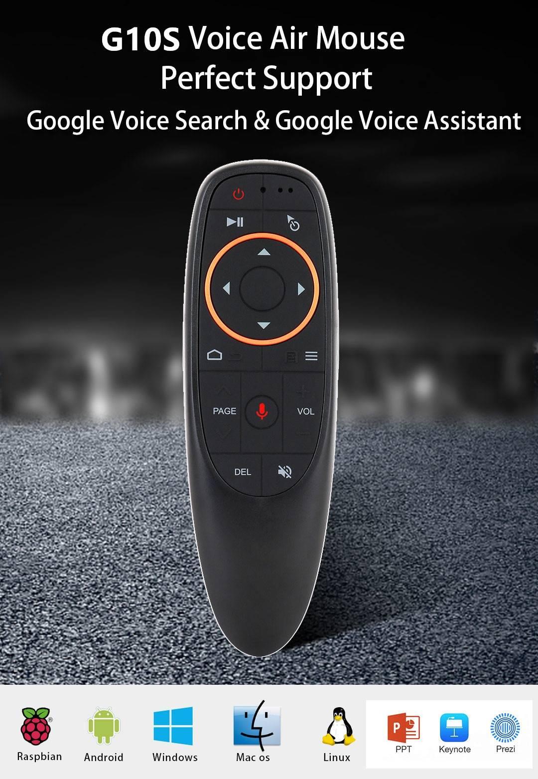 TV Box Google Voice Assistant Youtube 6K 3D Wifi