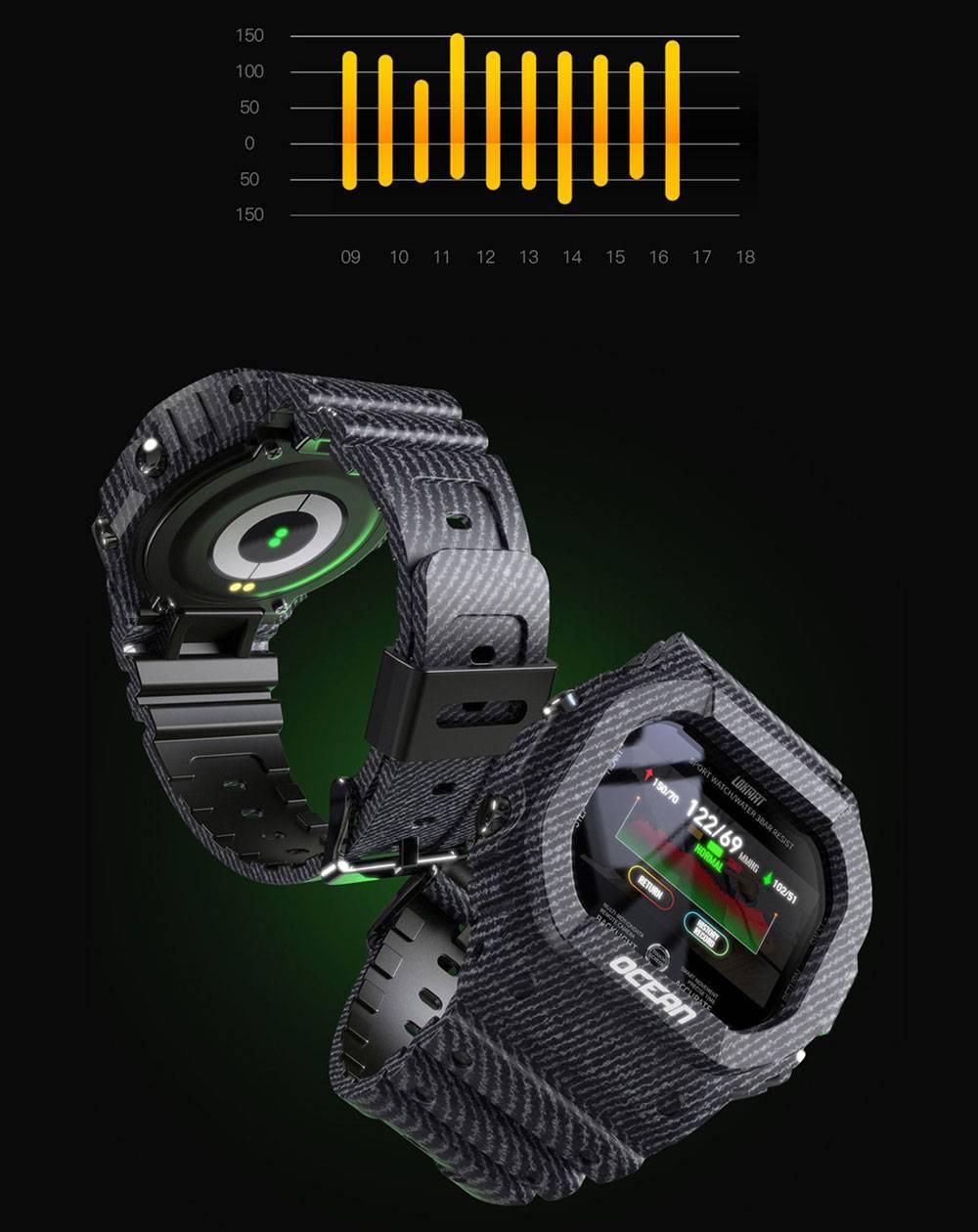 Shockproof Color Screen Smart Watch