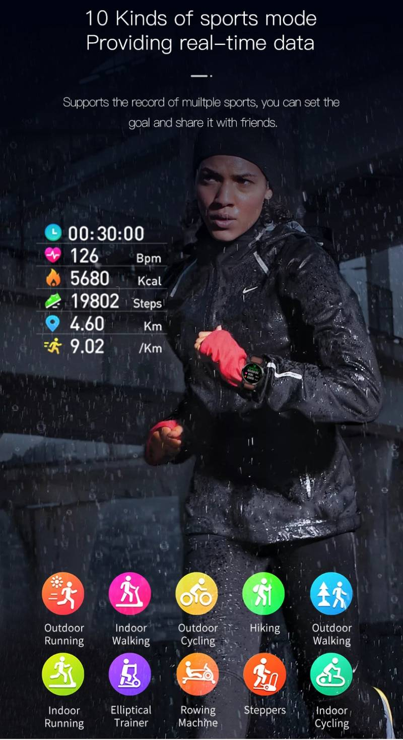 Large Screen Smart Watch