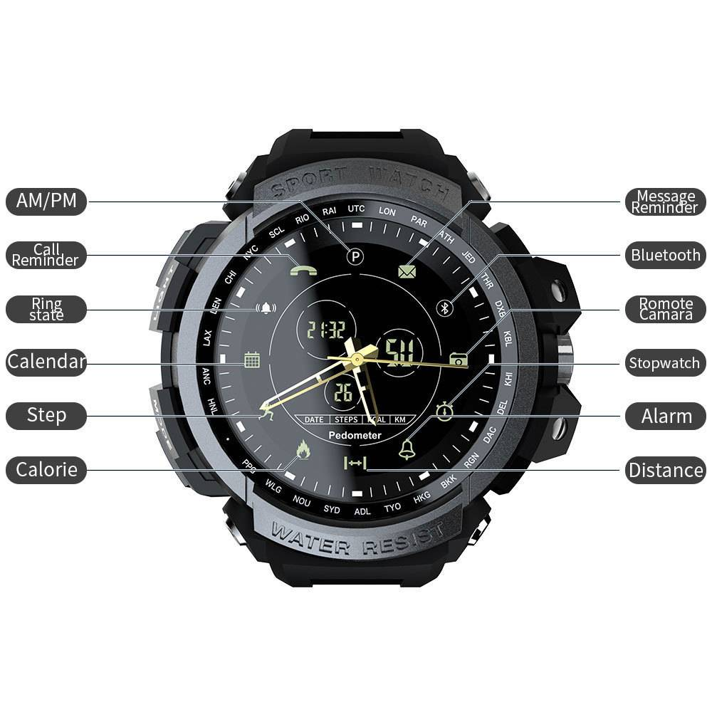 Sport Waterproof Bluetooth Smart Watch