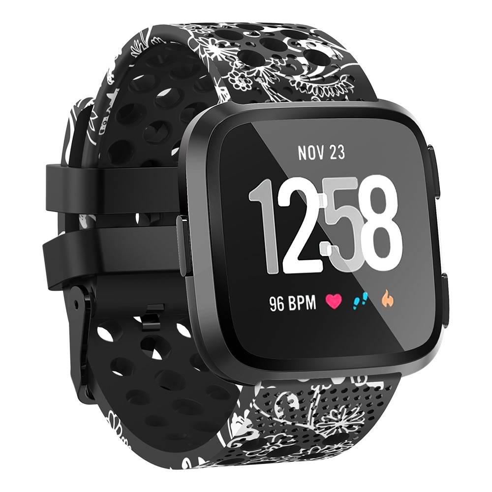 Colorful Ventilated Silicone Band for FitBit Versa