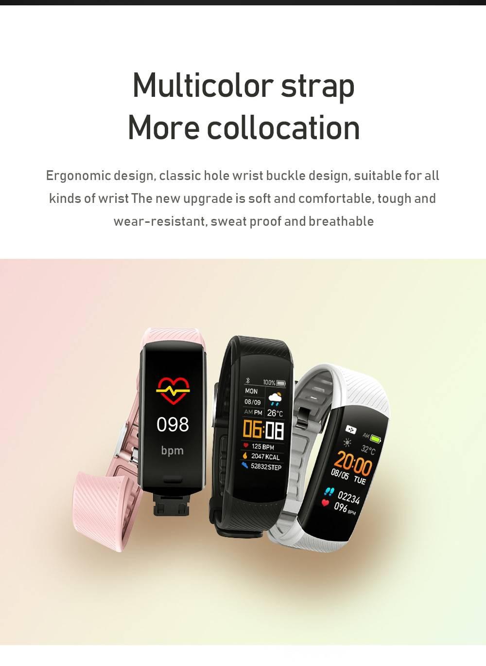 Minimalist Design Fitness Tracker