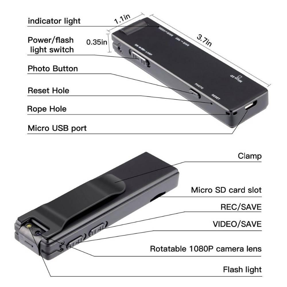 Mini Digital Camera HD