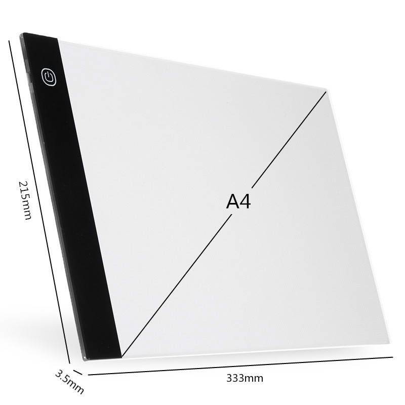 LED Digital Graphic Tablet A4