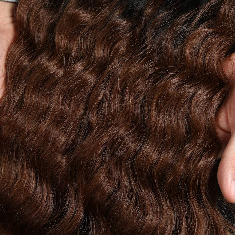 Lace Front Deep Wave Ombre Wig