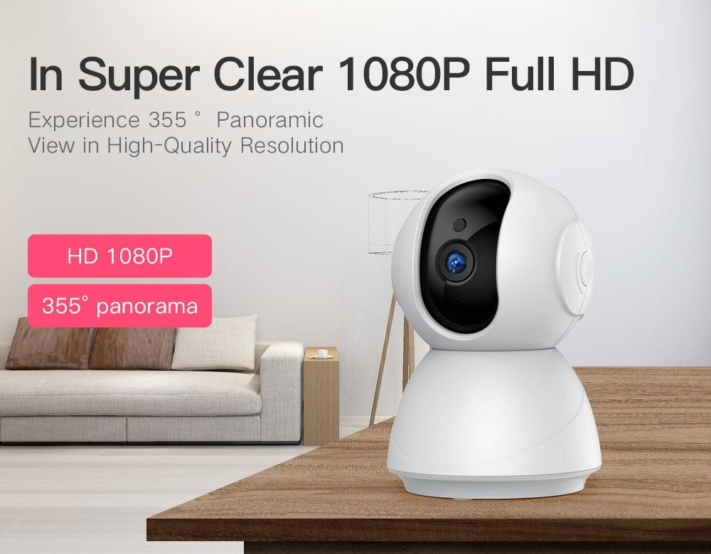 Wireless Security Camera with Night Vision