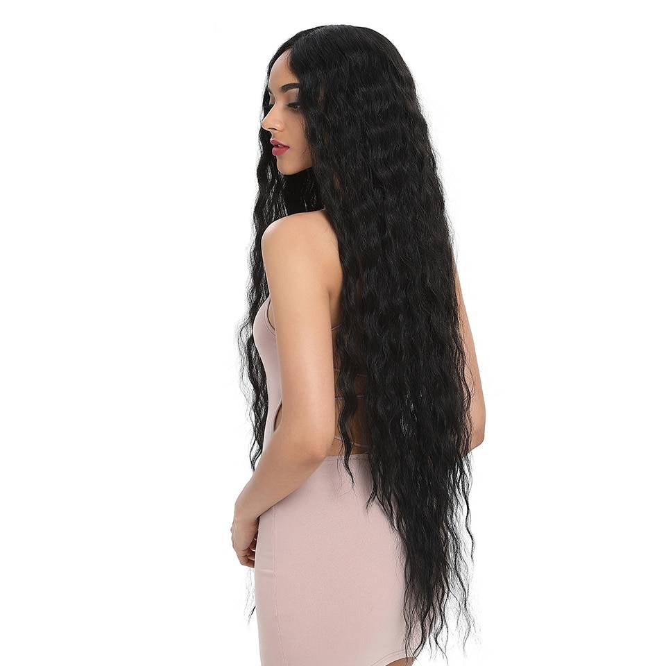Extra Long Curly Synthetic Wig