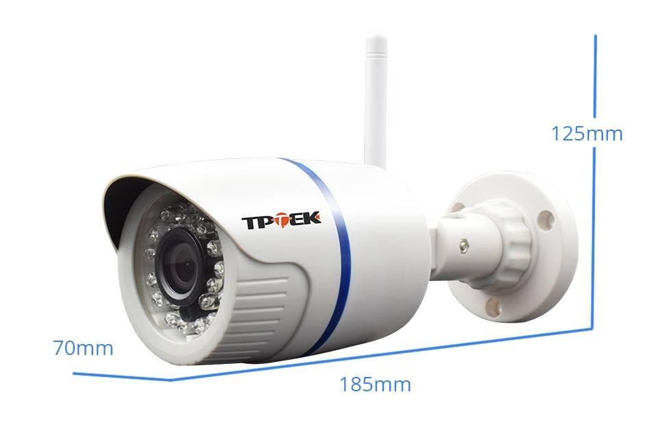 Waterproof 1080p WiFi Security Camera