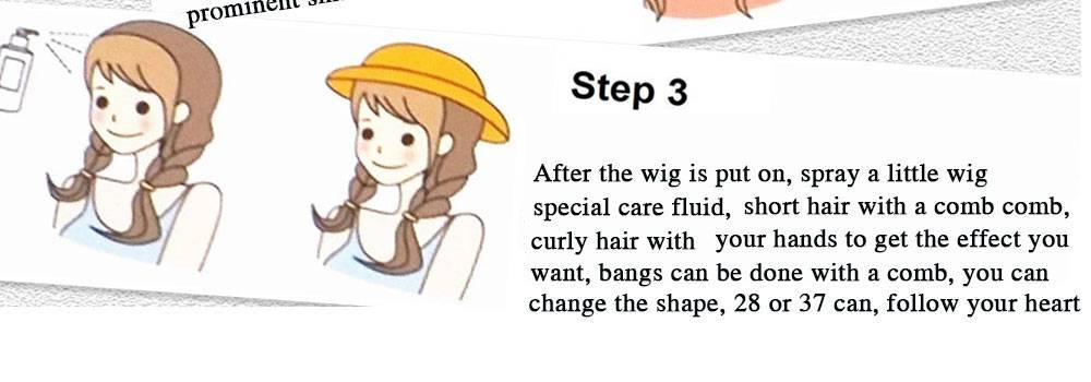 Straight Medium Length Bob Wig