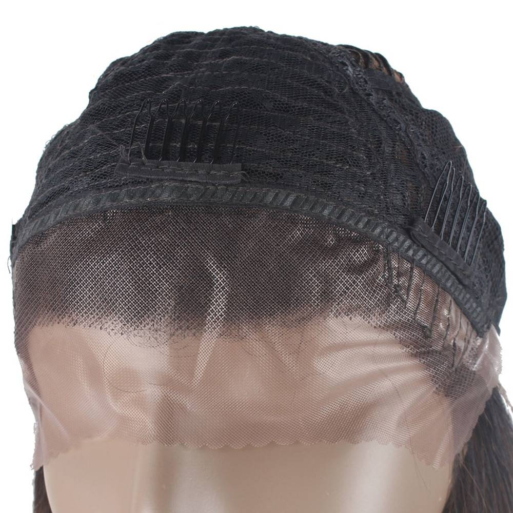 Black Long Wavy Lace Front Synthetic Hair Wig
