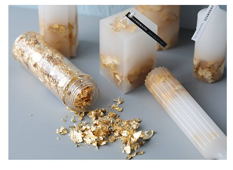 Candle Making Scented Foil in Gold