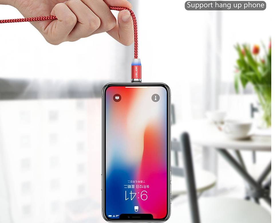 Magnetic USB Fast Charging Micro / Type C Cable