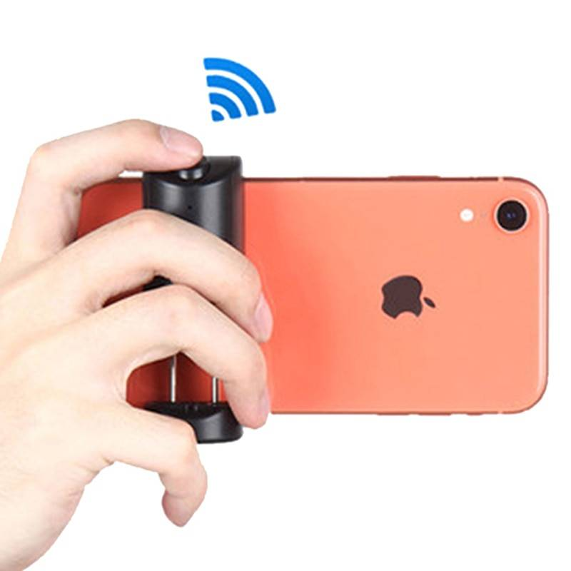 Bluetooth Photo Stabilizer Holder with Shutter Release