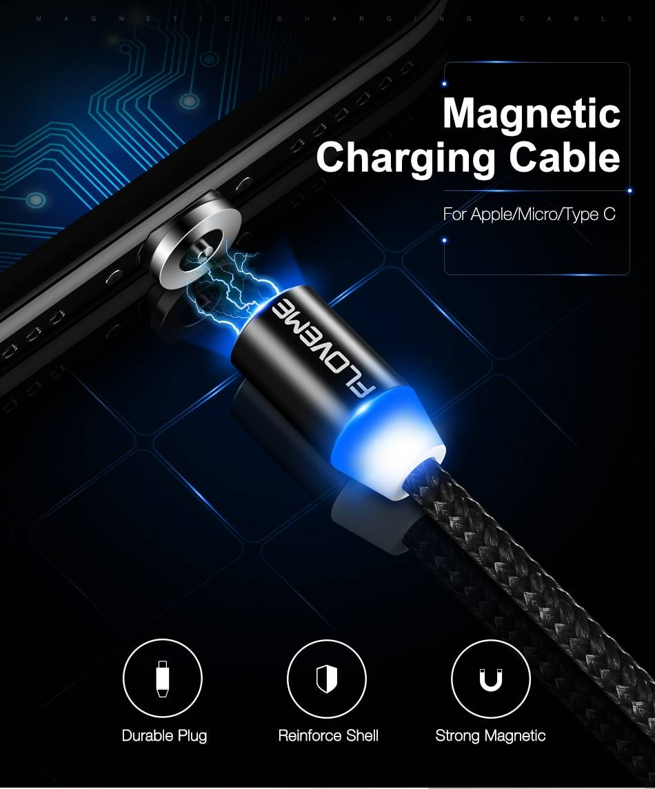 Magnetic Design USB Charging Cable