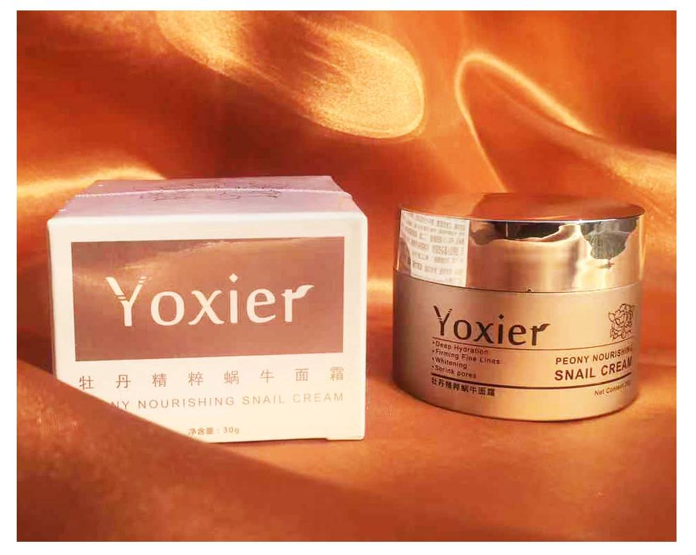 Snail Extract Anti-Aging Eye and Face Cream