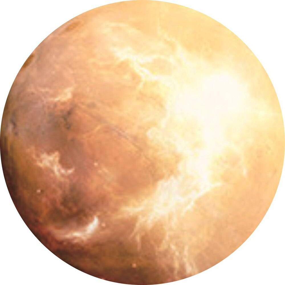 Round Planet Shaped Mouse Pad