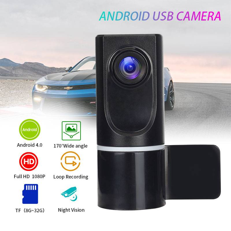 USB Support TF Card Motion Detecting Dash Camera for Cars